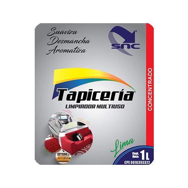 Tapiceria etiqueta